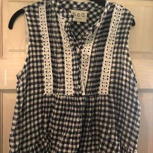 Cotton gingham too from SEA NY